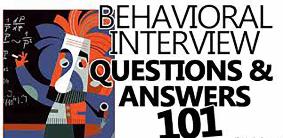 Behavioural Interview Questions