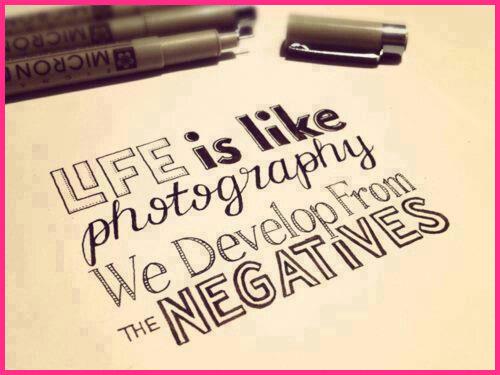 Turning Negatives Into Positives