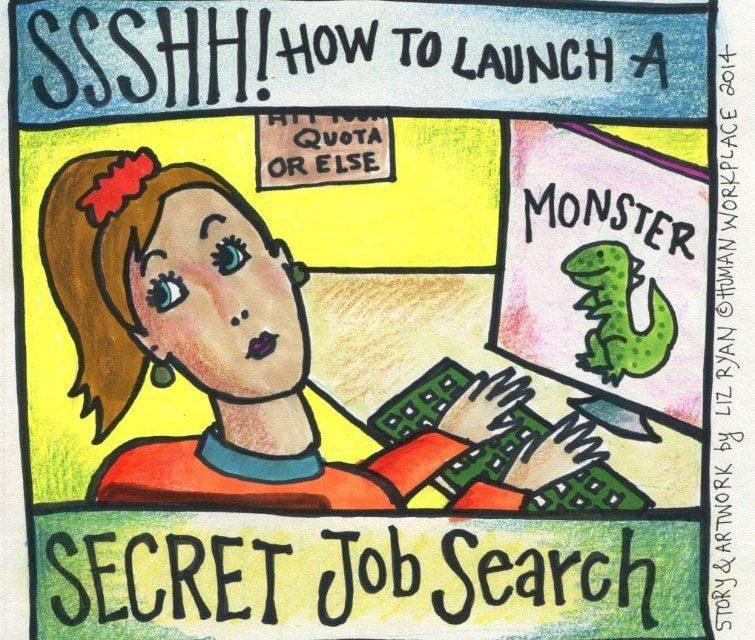 Conducting A Secret Job Search