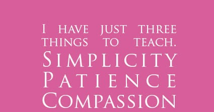 The Simplicity of Patience and Compassion